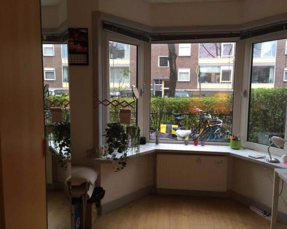 Kamer aan Westplantsoen in Delft