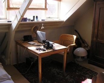 Kamer in Eindhoven, Bergen op Zoomstraat op Kamernet.nl: Zonnige zolderetage met dakkapel.  P. 5 SEPT.