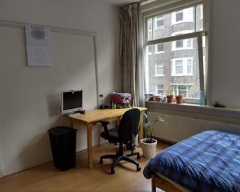 Kamer in Amsterdam, Slaakstraat op Kamernet.nl: Ruime kamer rivierenbuurt
