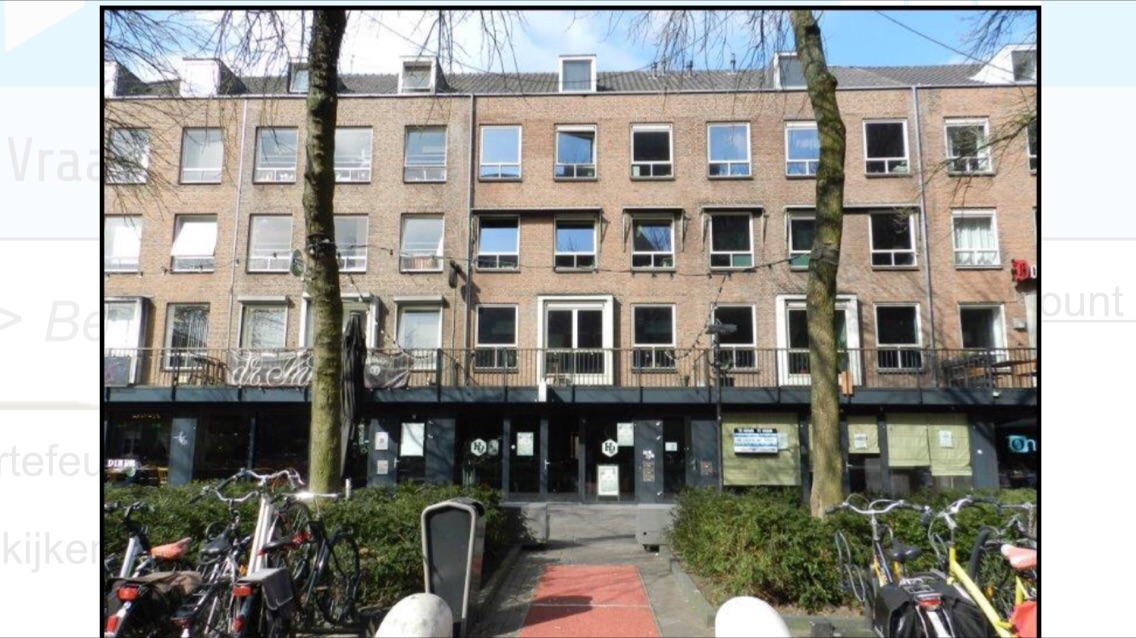 Kamer te huur in de Kerkstraat in Eindhoven