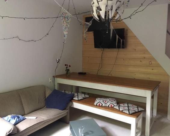 Kamer aan Westerstraat in Delft
