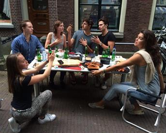 Kamer in Leiden, Hooglandse Kerkgracht op Kamernet.nl: Huisje Pino zoekt nieuwe huisgenoot! (M/V)
