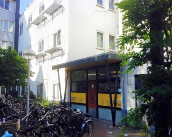 Kamer aan Morsweg in Leiden
