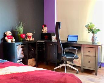 Kamer in Amsterdam, Bernard Shawsingel op Kamernet.nl: Volledig ingerichte ruime Kamer