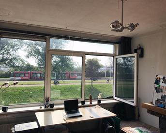 Kamer in Rotterdam, Schiedamseweg Beneden op Kamernet.nl: Ruime kamer met vrij uitzicht