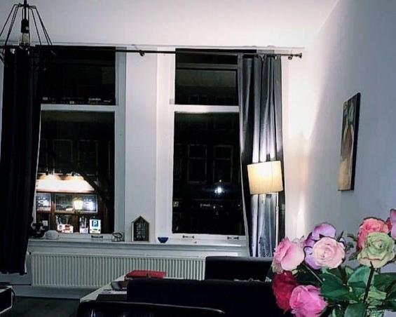 Kamer aan Oudegracht in Utrecht