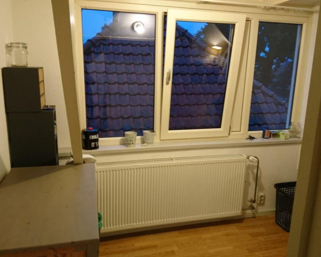 Kamer aan Soesterweg in Amersfoort