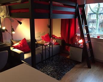 Kamer in Enschede, Hogelandsingel op Kamernet.nl: Studio met eigen badkamer