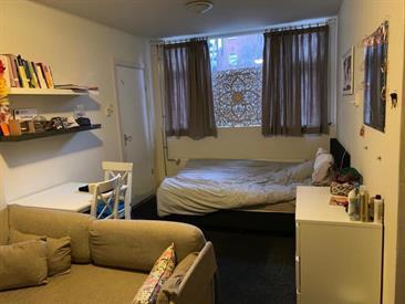 Kamer in Groningen, Nieuwe Kijk in 't Jatstraat op Kamernet.nl: Kamer met eigen badkamer in het centrum
