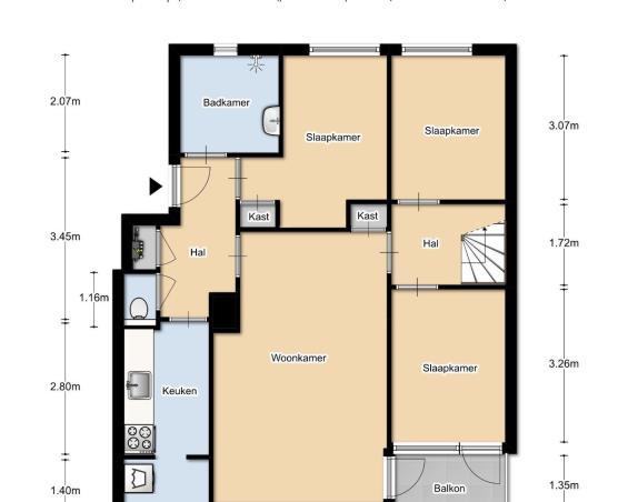Kamer te huur in Amsterdam voor €410 | Kamernet