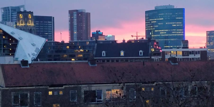 Appartement aan Goudsesingel in Rotterdam