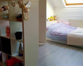 Kamer in Arnhem, Wijdenespad op Kamernet.nl: Ruime zolderkamer 16m2