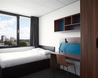 Kamer in Rotterdam, Willem Ruyslaan op Kamernet.nl: Comfortabele kamer voor studenten
