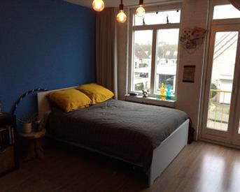 Kamer in Enschede, Mina Krusemanstraat op Kamernet.nl: Kamer in gezellig studentenhuis