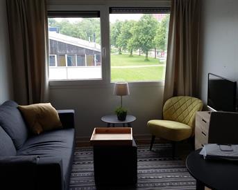 Kamer in Groningen, Damsterdiep op Kamernet.nl: Tijdelijke onderhuur zelfstandige studio