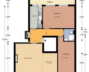 Kamer in Utrecht, Marnixlaan op Kamernet.nl: Volledig gerenoveerd appartement beschikbaar
