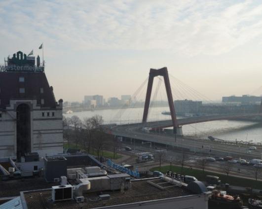 Appartement aan Wijnhaven in Rotterdam