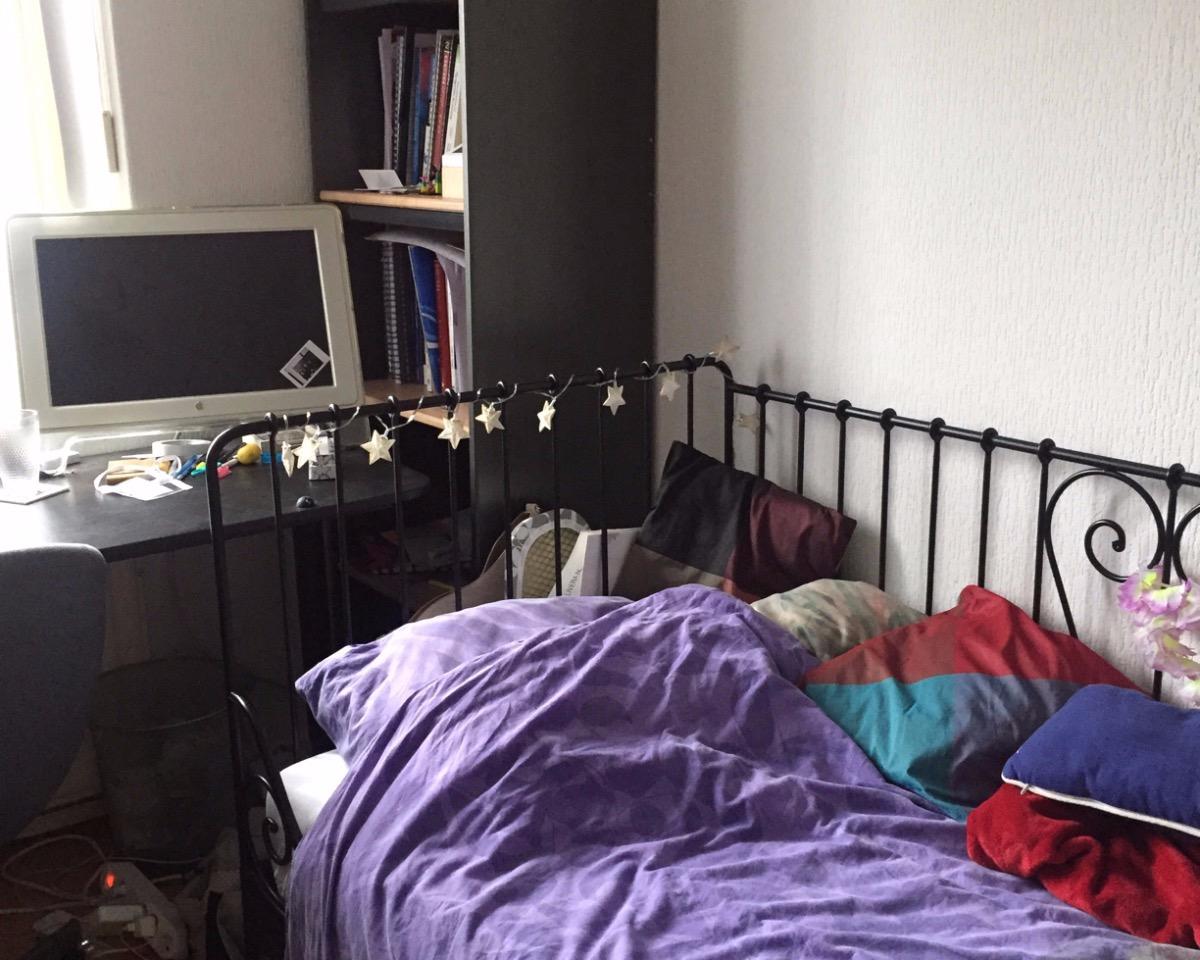 Kamer aan Smaragdstraat in Breda
