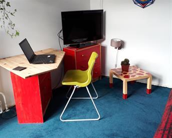 Kamer in Delft, Meermanstraat op Kamernet.nl: leuke kamer met gebruik extra lounge