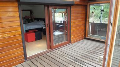 Kamer in Maastricht, Stuwweg op Kamernet.nl: Beautiful furnished two person room at Houseboat Stuwweg