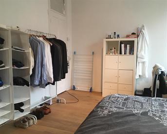 Kamer in Amsterdam, Waalstraat op Kamernet.nl: Ruime kamer in gedeeld apt. in Amsterdam Zuid