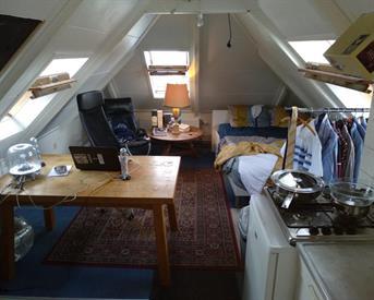 Kamer in Groningen, Oude Kijk in 't Jatstraat op Kamernet.nl: Gemeubileerde studentenkamer