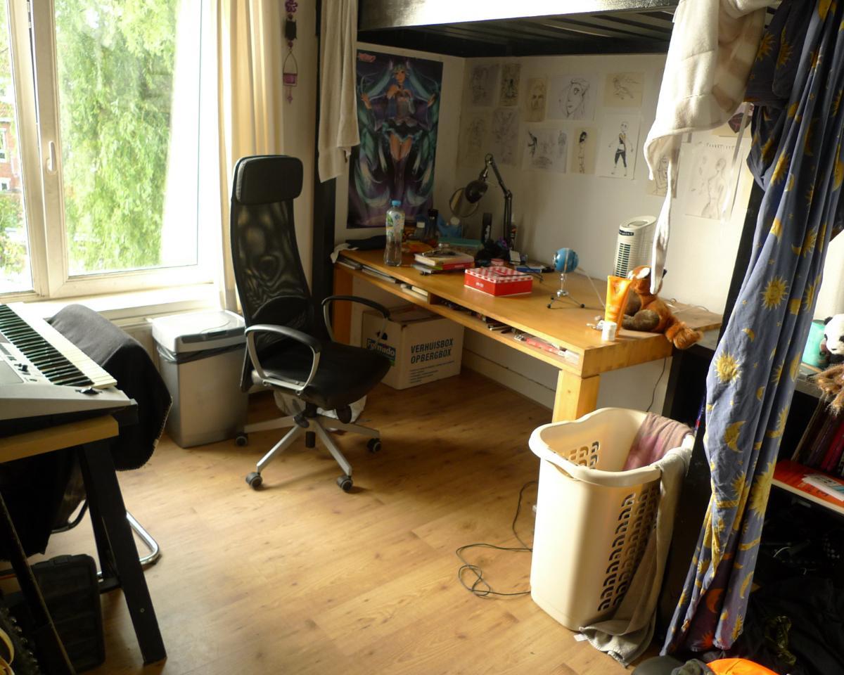 Kamer te huur op het Nassauplein in Groningen