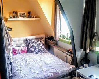 Kamer in Groningen, Helper Oostsingel op Kamernet.nl: Compleet ingerichte kamer - TIJDELIJK