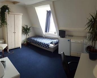 Kamer in Amsterdam, Legmeerplein op Kamernet.nl: AS PER DIRECT AVAILABLE: A LUXURIOUS STUDIO NEAR THE VONDEPARK!