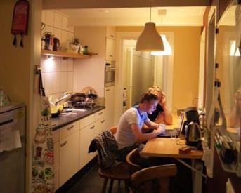 Kamer in Enschede, Parkweg op Kamernet.nl: Gemengd, luxe studentenhuis bij het volkspark