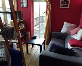 Kamer in Nijmegen, St. Stephanusstraat op Kamernet.nl: 2 kleine kamertjes en een mega dakterras