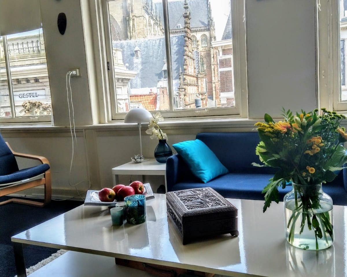 Kamer te huur in de Grote Houtstraat in Haarlem