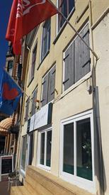 Kamer in Leeuwarden, Tuinen op Kamernet.nl: ruim appartement met ruim dakterras