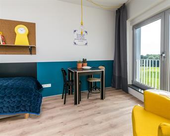 Kamer in Leeuwarden, Ubbo Emmiuslaan op Kamernet.nl: Gemeubileerde kamer voor internationale studenten