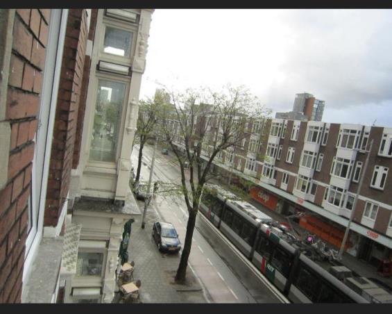 Kamer aan Nieuwe Binnenweg in Rotterdam