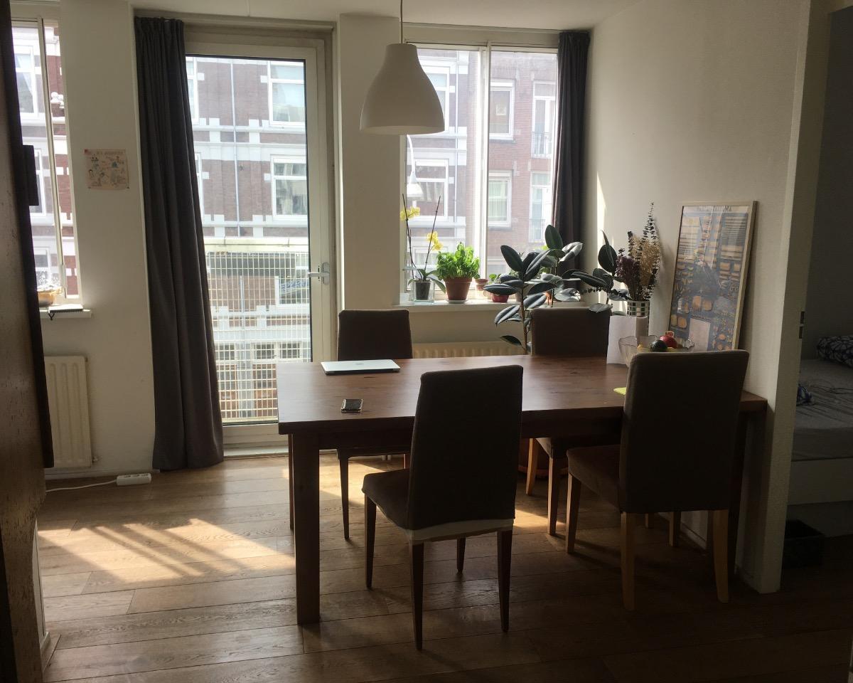 Kamer te huur aan de Oranje-Vrijstaatkade in Amsterdam