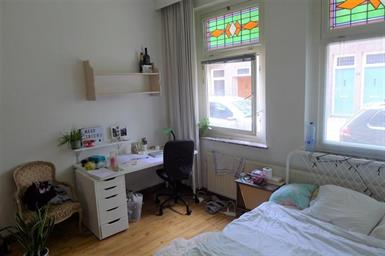 Kamer in Maastricht, Franquinetstraat op Kamernet.nl: Kamer op de begane grond in een net studentenhuis