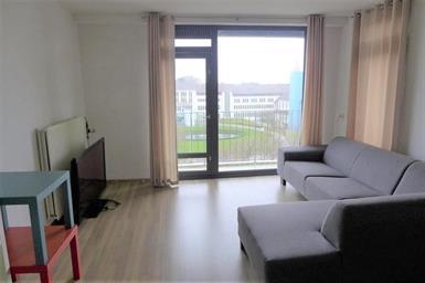 Kamer in Maastricht, Sint Annadal op Kamernet.nl: Grote kamer met laminaatvloer en balkon