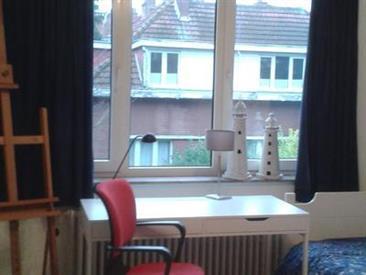 Kamer in Evere, Oud-Strijderslaan op Kamernet.nl: Uitzicht op de tuin