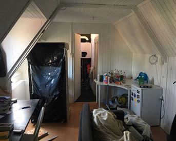 Kamer in Groningen, Gratamastraat op Kamernet.nl: Leuke zolderkamer
