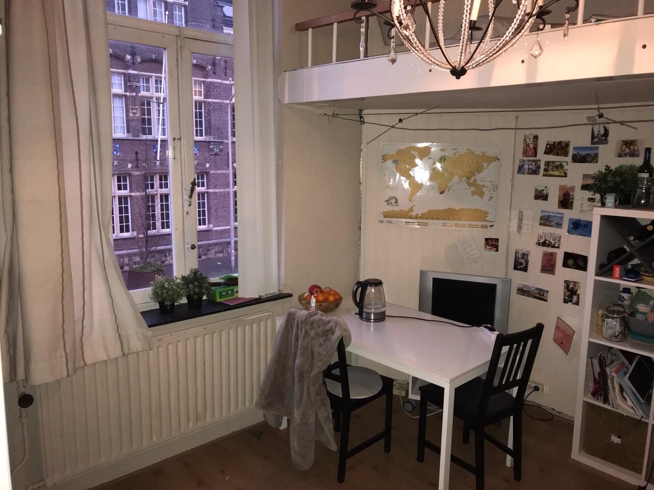 Kamer te huur op de Wilhelminasingel in Maastricht