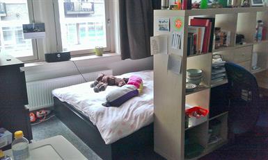 Kamer in Eindhoven, Aalsterweg op Kamernet.nl: Zeer  lichte, ruime kamer