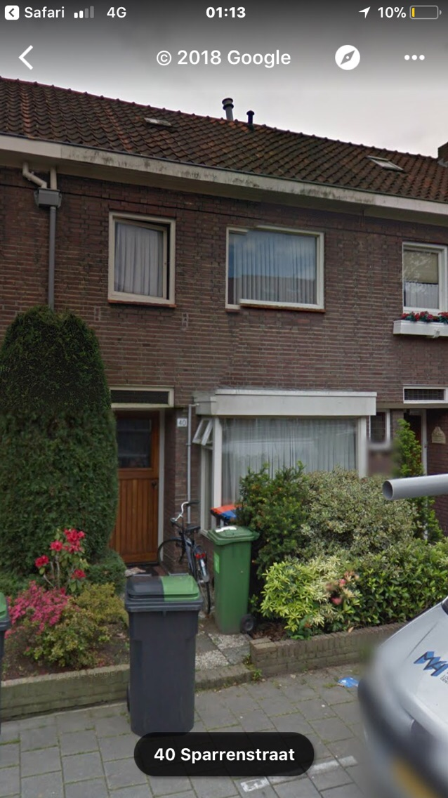 Kamer te huur in de Sparrenstraat in Tilburg