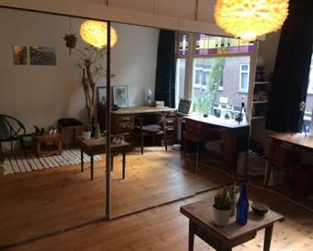 Kamer in Rotterdam, Groen van Prinstererstraat op Kamernet.nl: Grote en knusse kamer in Blijdorp