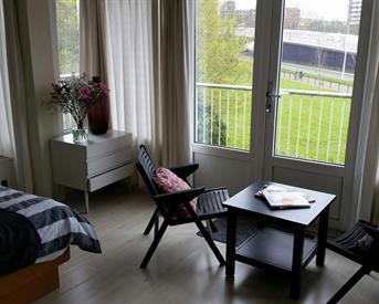 Kamer in Utrecht, Brucknerlaan op Kamernet.nl: Grote kamer met eigen wc en douch
