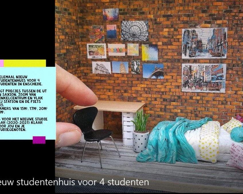 Kamer te huur in de Taurusstraat in Enschede