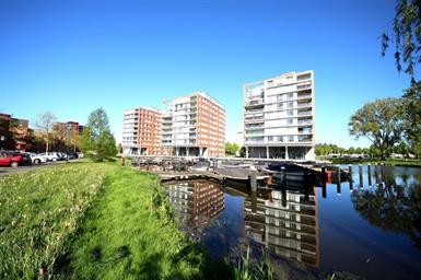 Kamer in Leiden, Neptunuskade op Kamernet.nl: Dit moderne appartment is gelegen in de kindvriendelijke wijk Roomburg