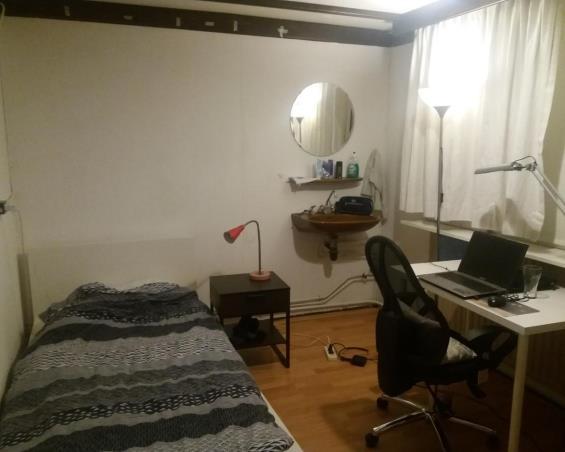 Kamer aan Ridderstraat in Tilburg