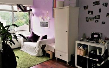 Kamer aan Vlietlaan in Bussum