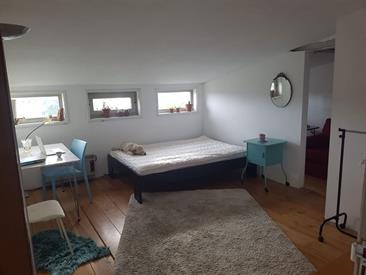 Kamer in Amsterdam, Leenhofstraat op Kamernet.nl: Big and tidy no smoking room, wooden floor